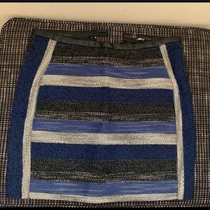 Stitched Aztec skirt